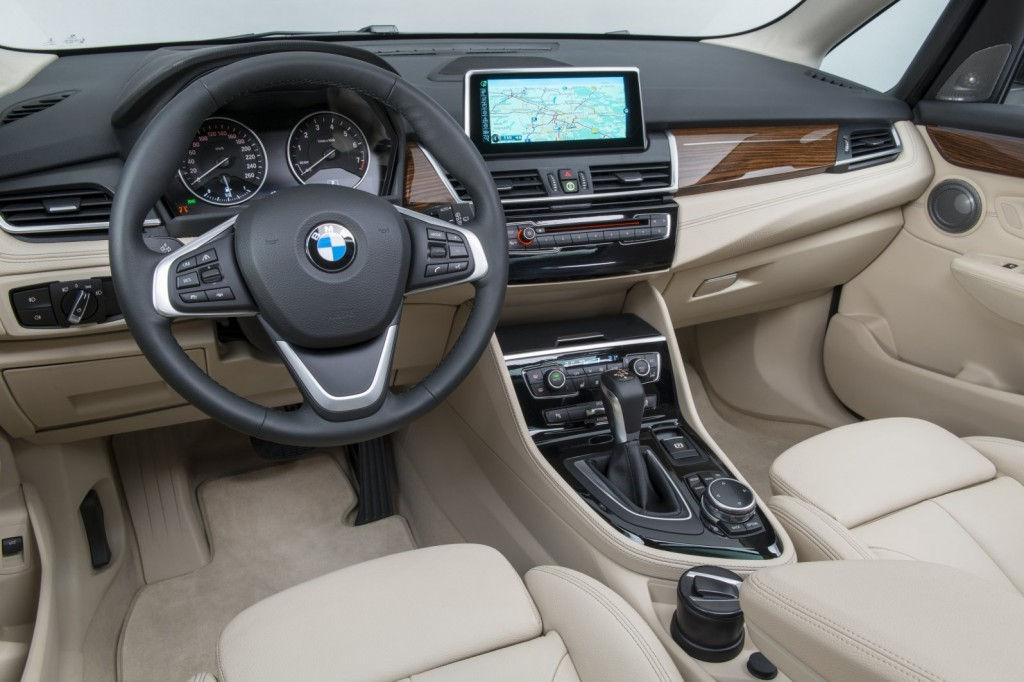 bmw AT interior