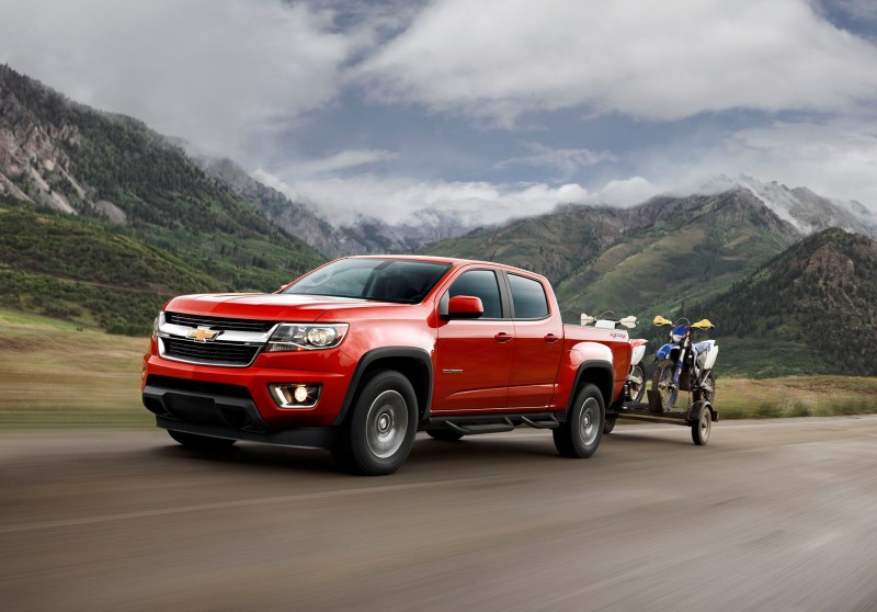chevrolet colorado 2016 llega renovada. Black Bedroom Furniture Sets. Home Design Ideas