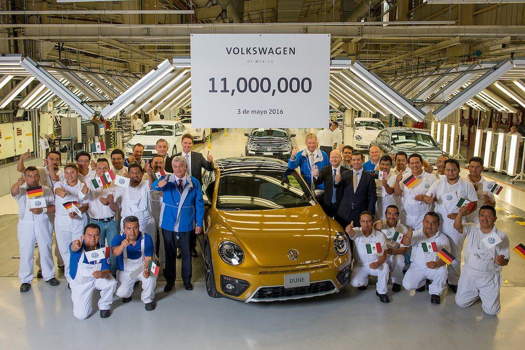 VW 11 millones