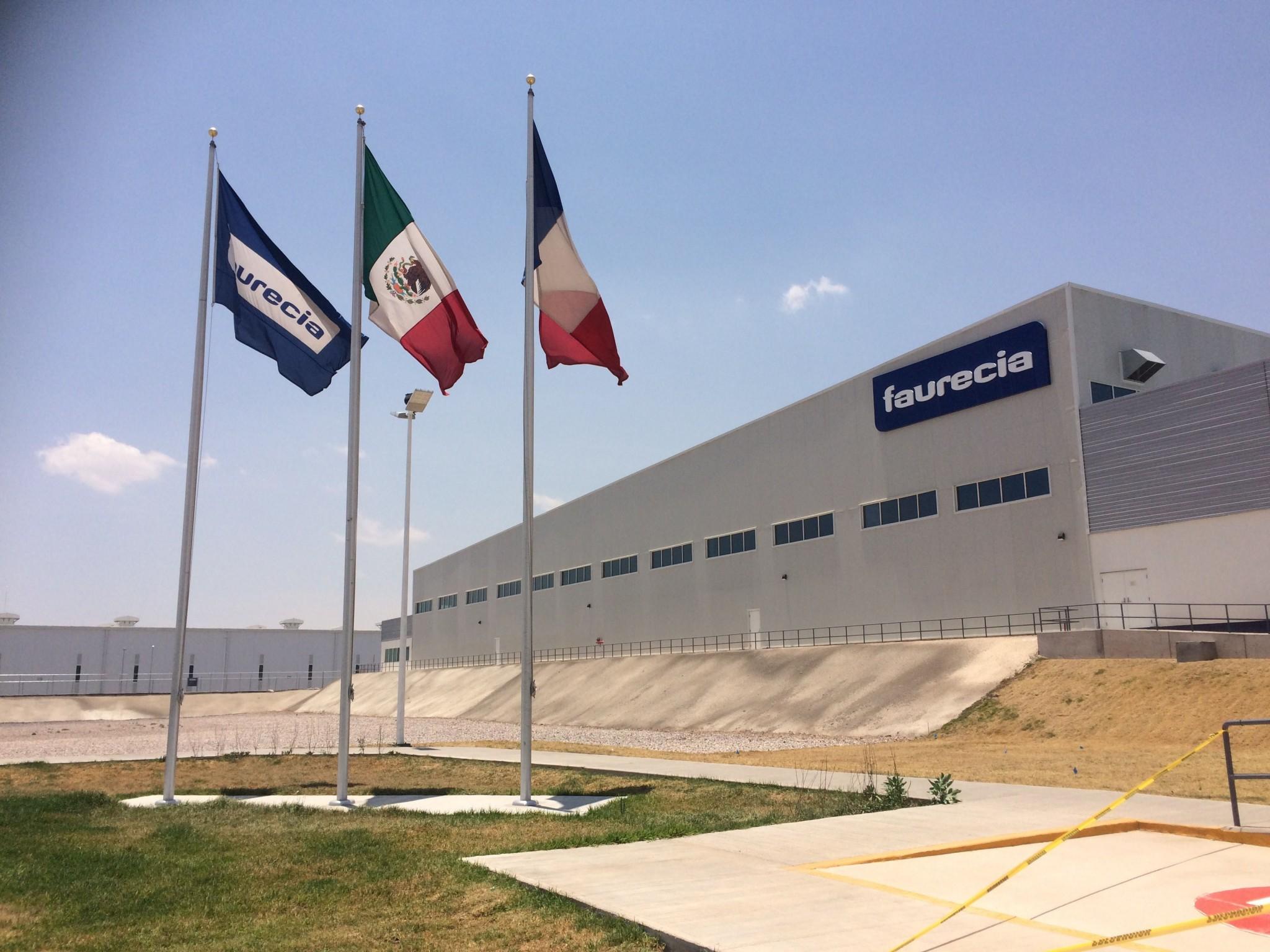Faurecia abre dos nuevas plantas de producci n en slp - Faurecia interior systems ...