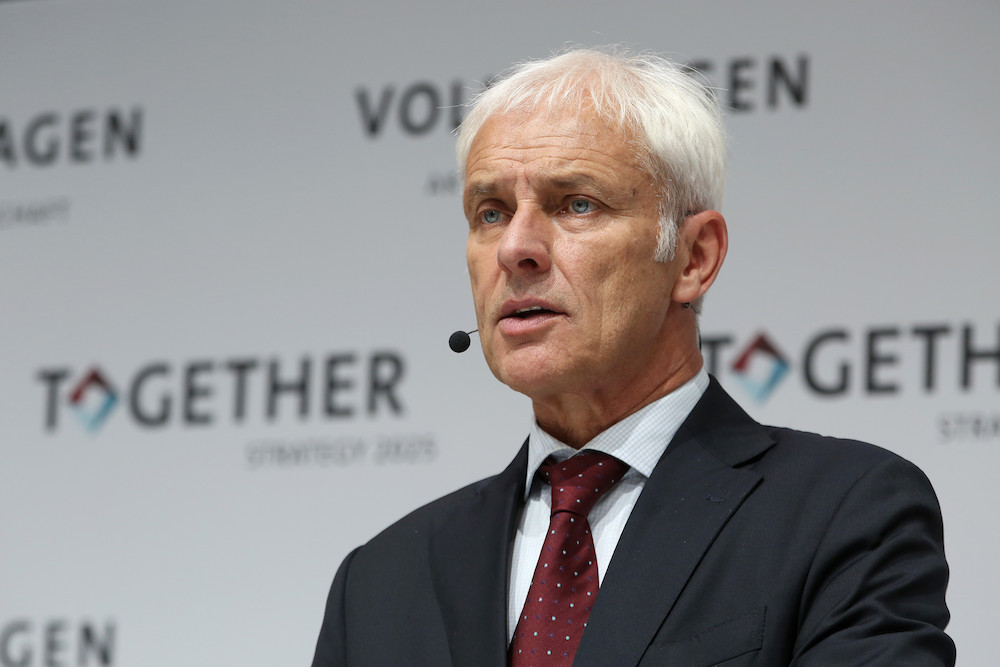 Matthias Muller VW